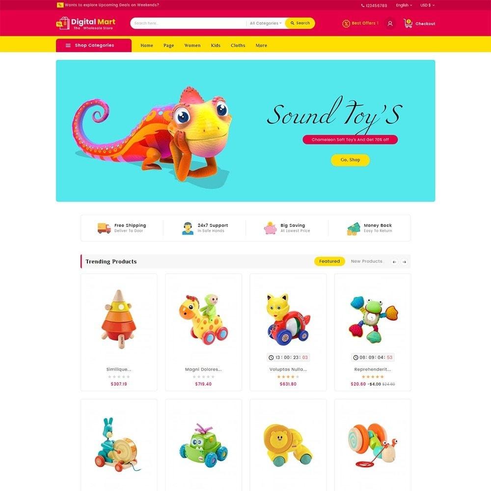 theme - Kinder & Spielzeug - Digital Mart Kids Toys - 2
