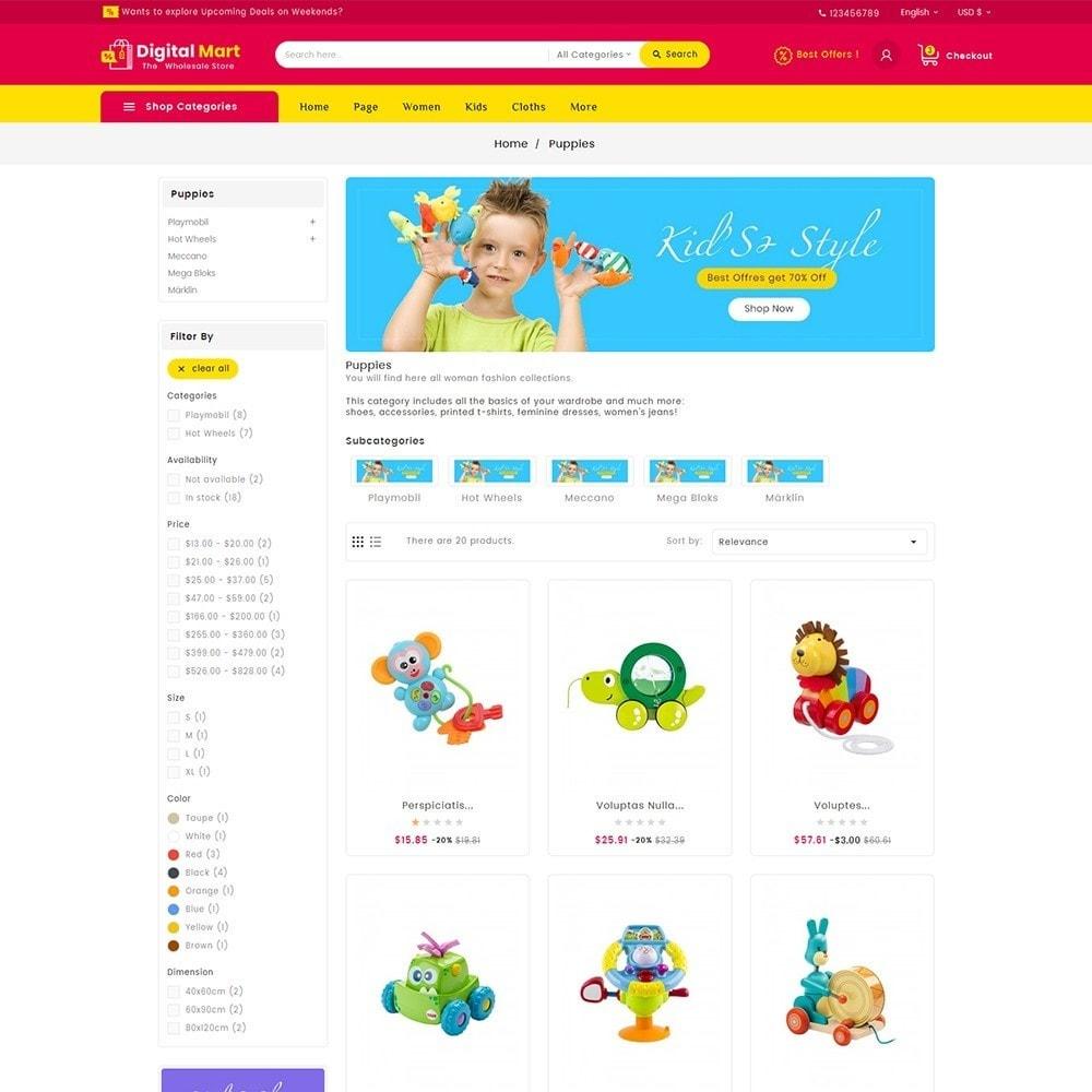 theme - Kinder & Spielzeug - Digital Mart Kids Toys - 5