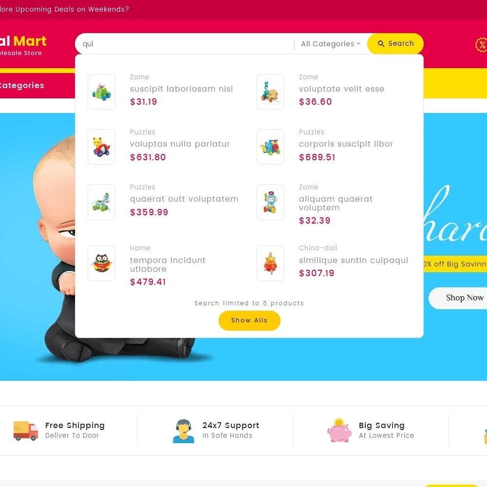 theme - Kinder & Spielzeug - Digital Mart Kids Toys - 12