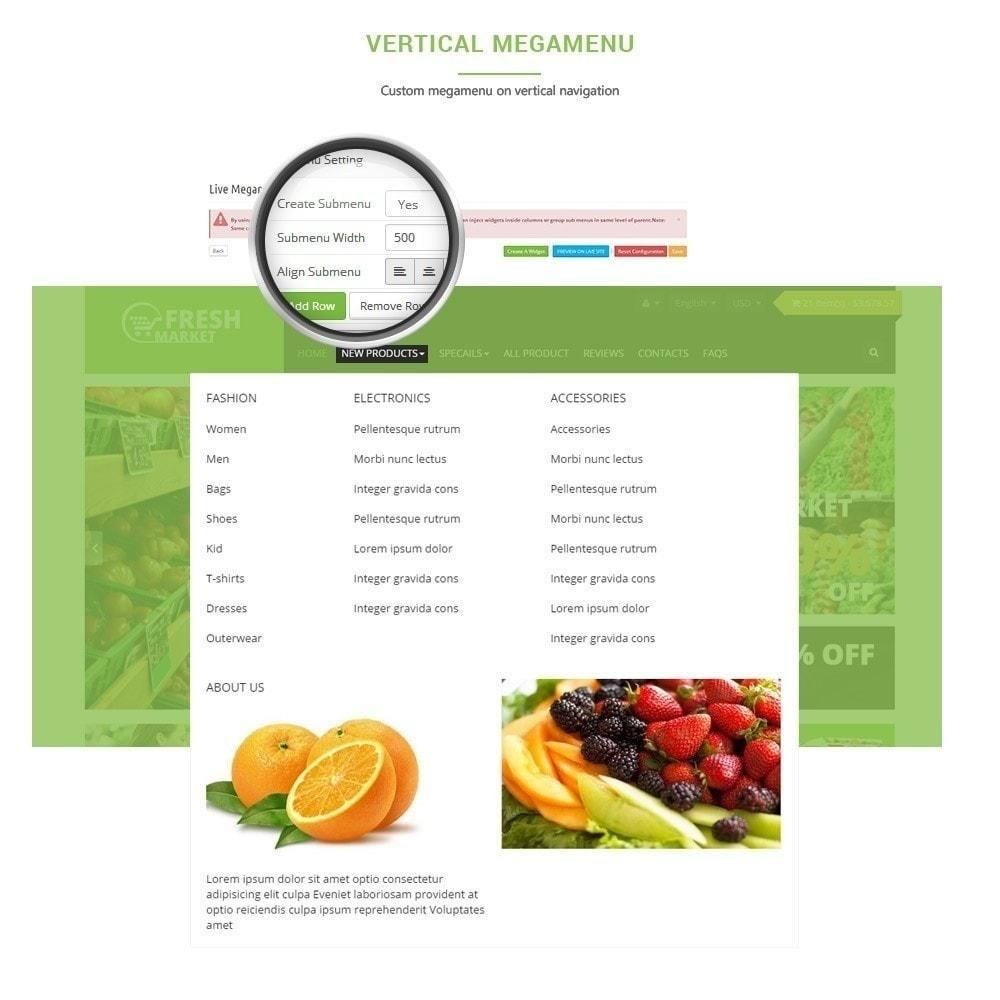 theme - Alimentation & Restauration - Leo Fresh Store - Alimentation, Légumes, Marché frais - 3