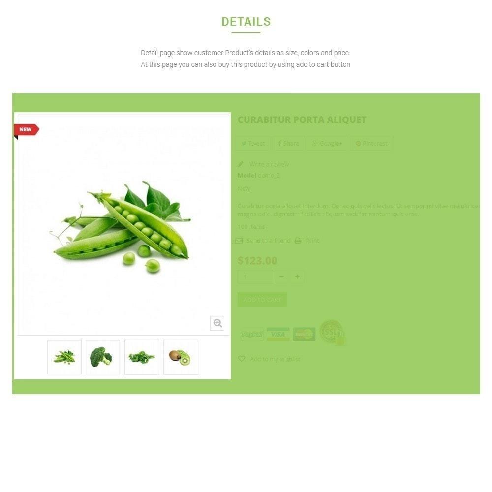 theme - Alimentation & Restauration - Leo Fresh Store - Alimentation, Légumes, Marché frais - 8