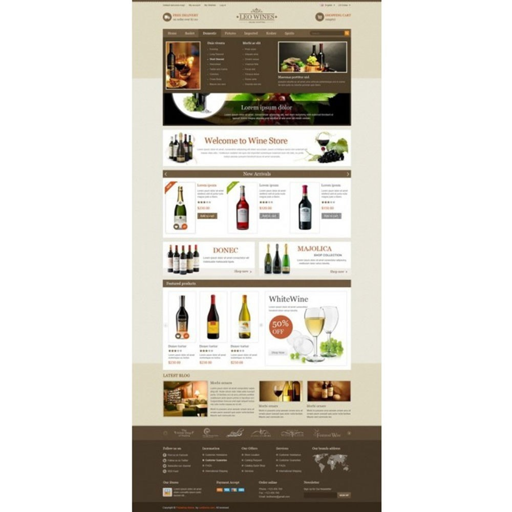 Leo Wines - Alcool, Restaurant & Magasin d'alcool