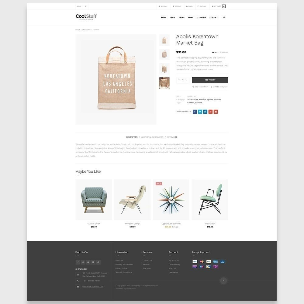 theme - Maison & Jardin - Leo CoolStuff  - Furniture & Decoration Template - 8
