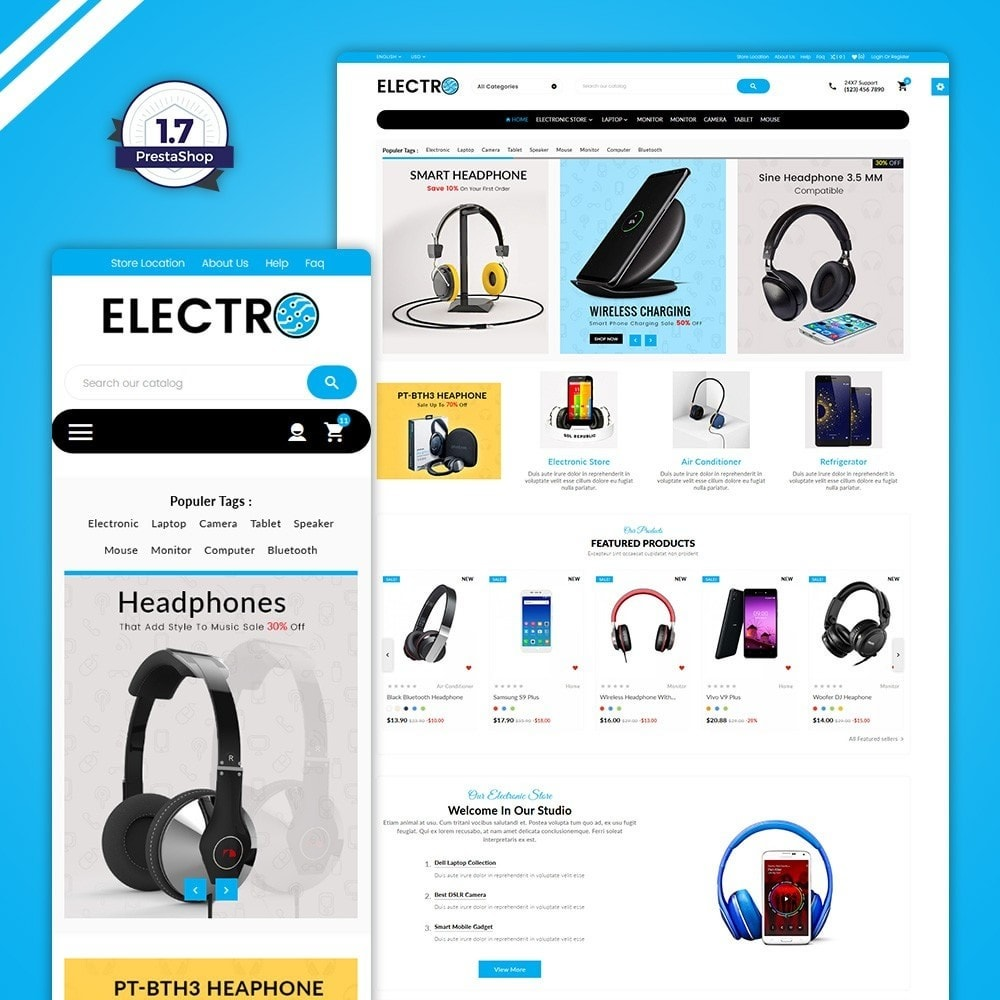 theme - Electronique & High Tech - Electro–Electronics Big Shop - 1