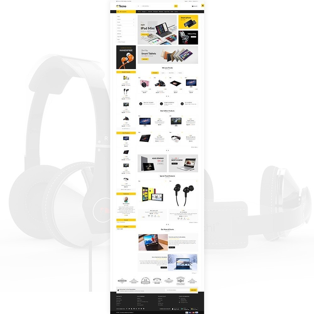 theme - Eletrônicos & High Tech - Tecno – The Electronic Multi Purpose Store - 1