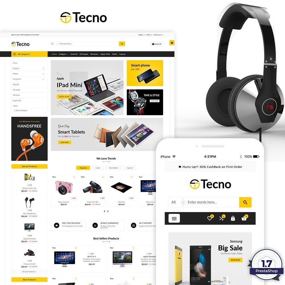 Tecno – The Electronic Multi Purpose Store
