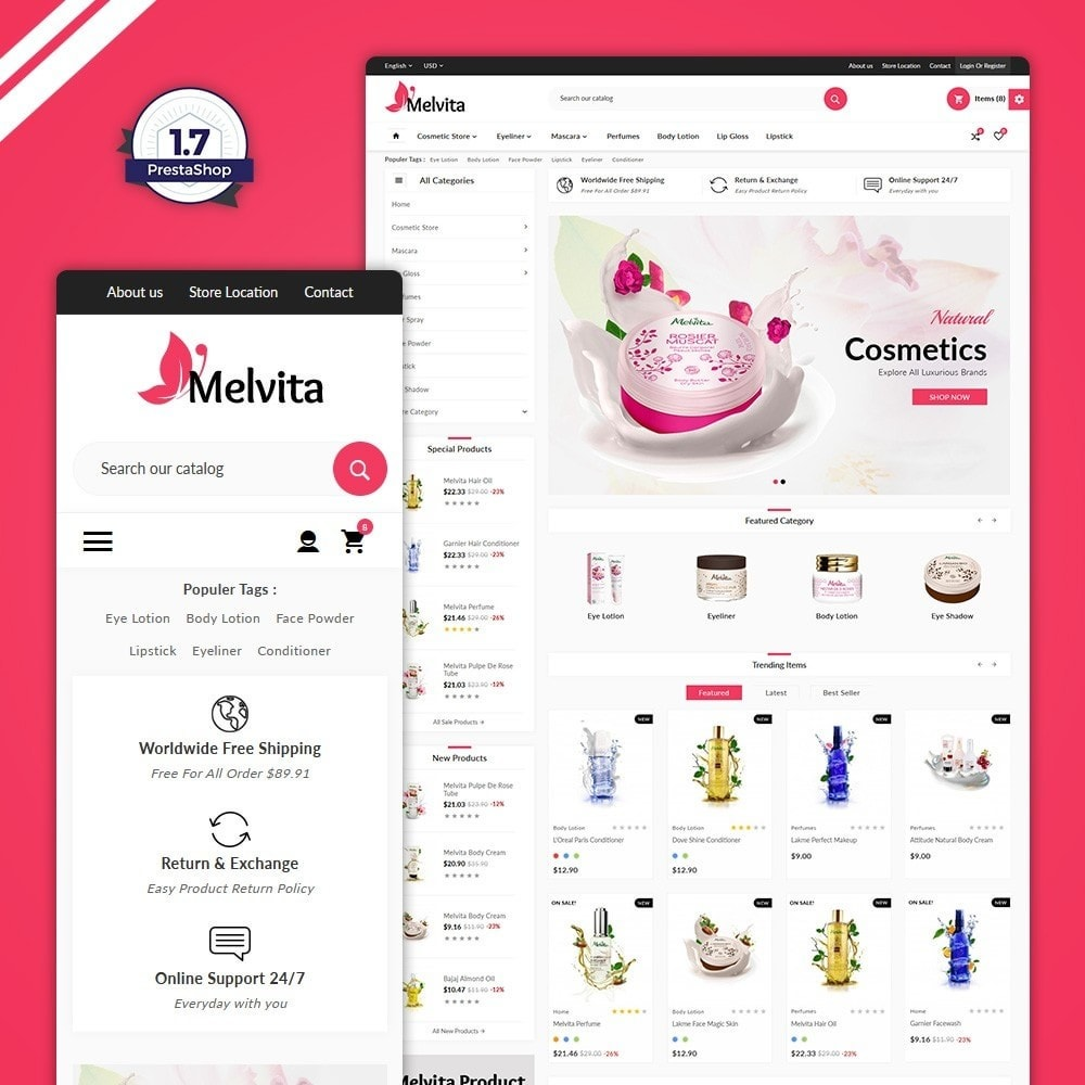 theme - Health & Beauty - Cosmetic Super Mall - 1