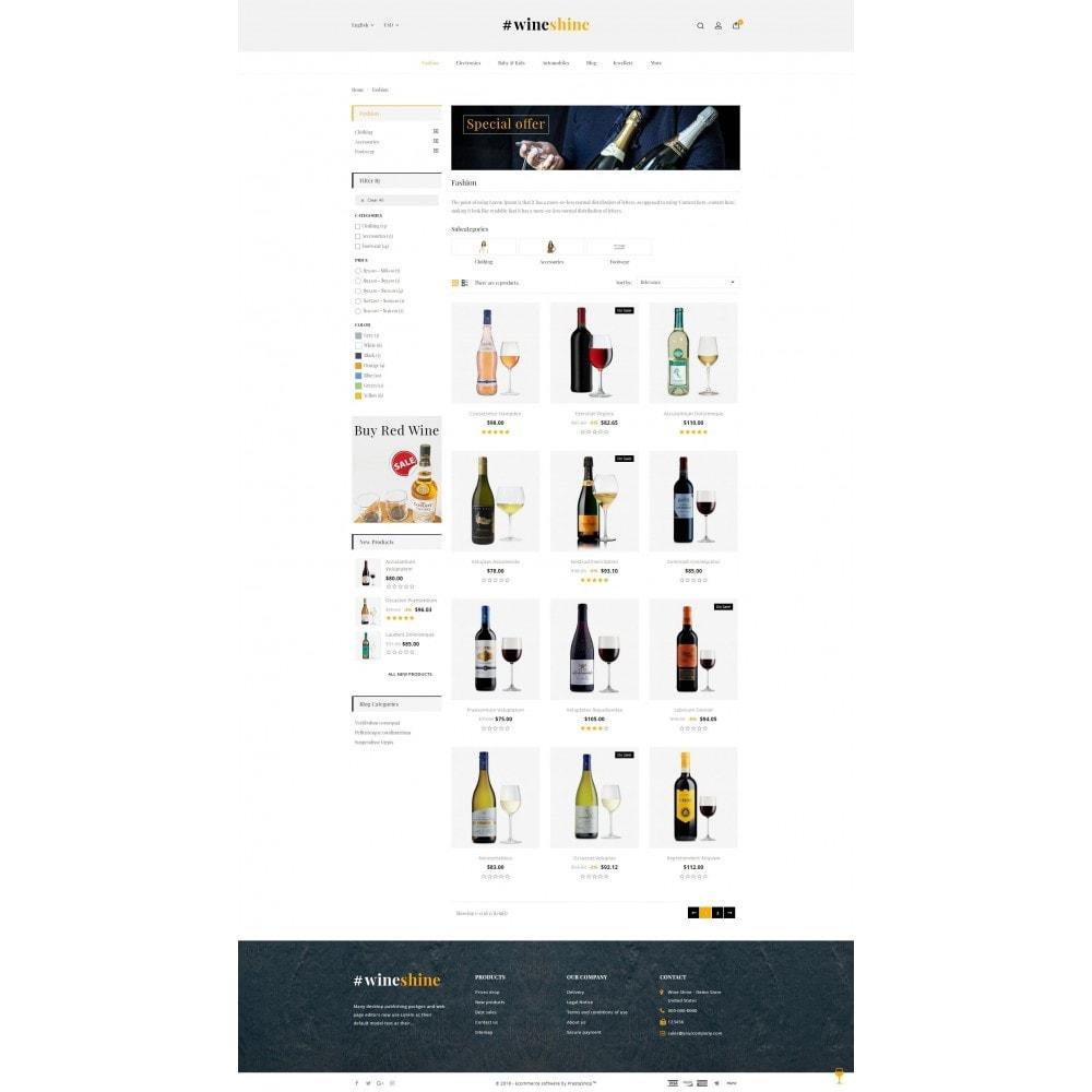 theme - Boissons & Tabac - Wine Shine Store - 3