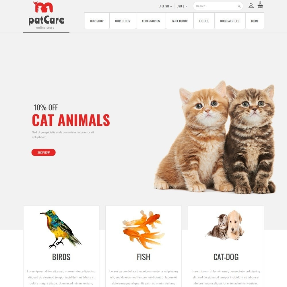 Patcare - The Animal Store