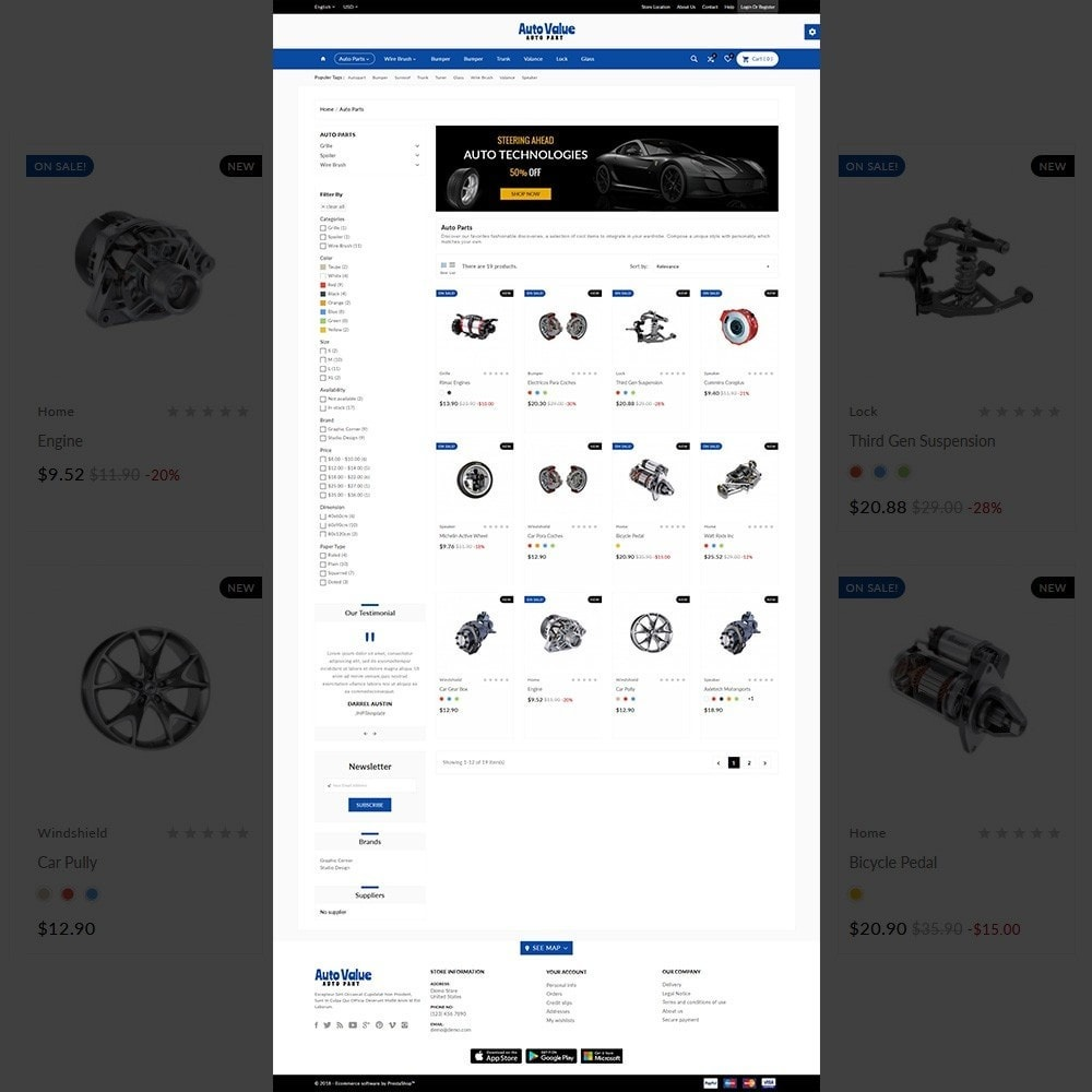 Auto Part –Tools Mega Shop