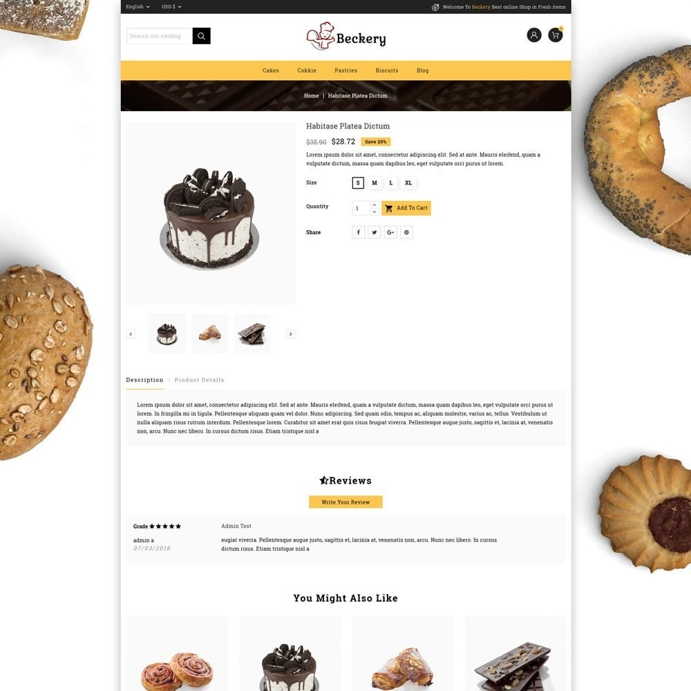 theme - Lebensmittel & Restaurants - Bakery Store - 5