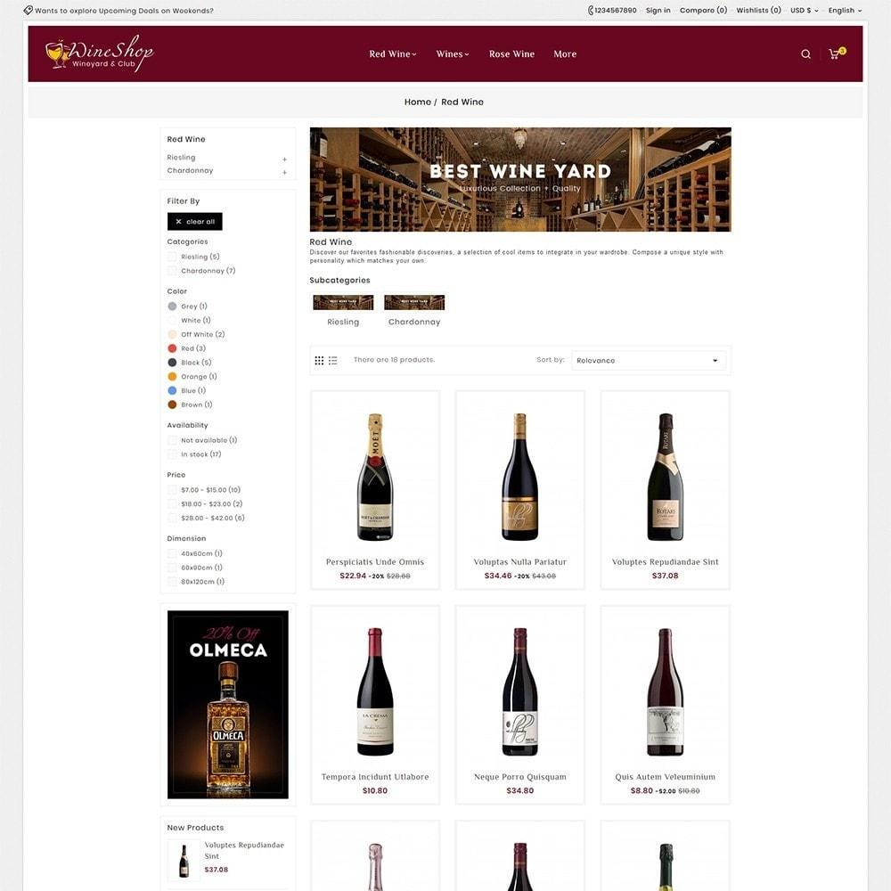 theme - Bebidas & Tabaco - Wine Club & Yard - 5