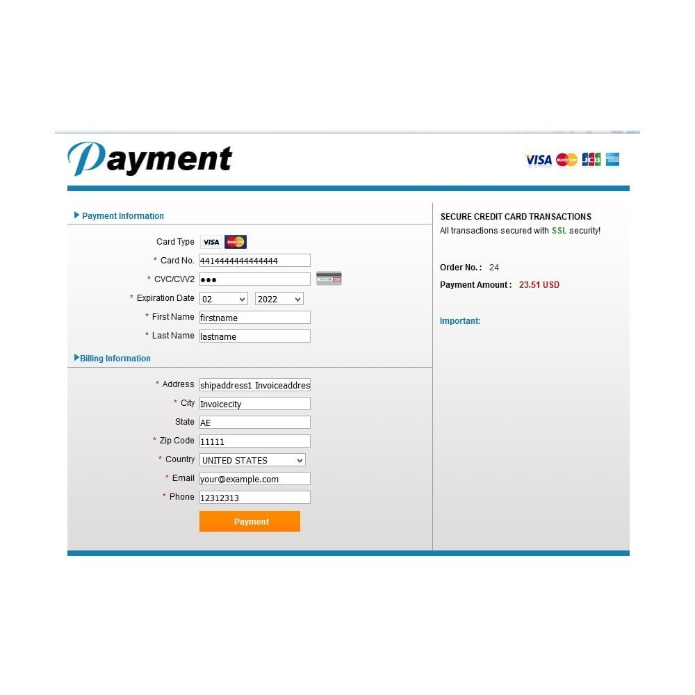module - Payment by Card or Wallet - BillriantPay - 3