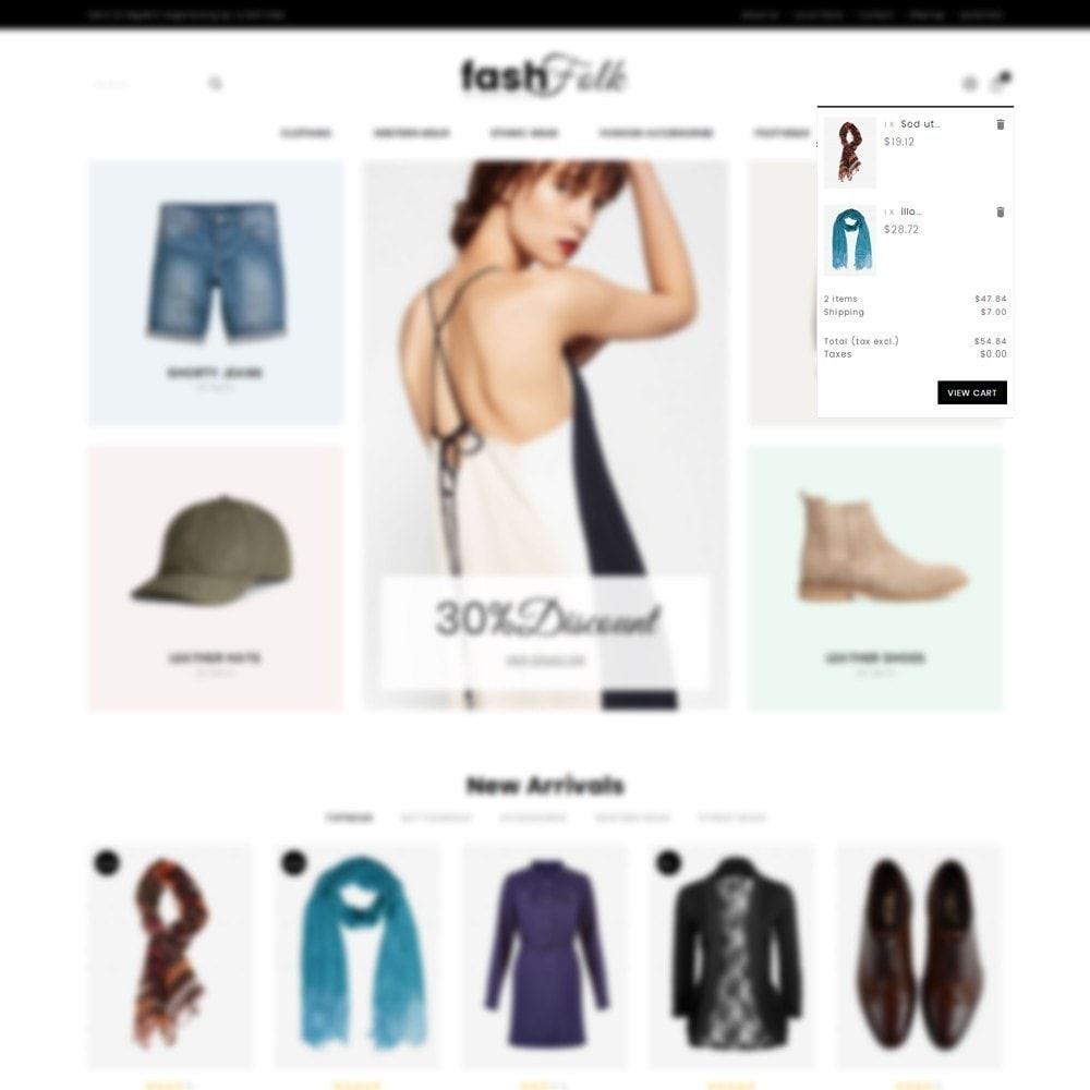 theme - Mode & Chaussures - Fash Folk store - 8