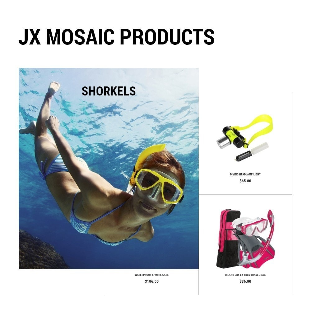 theme - Sport, Loisirs & Voyage - DiveDeep - Snorkeling Equipment - 4