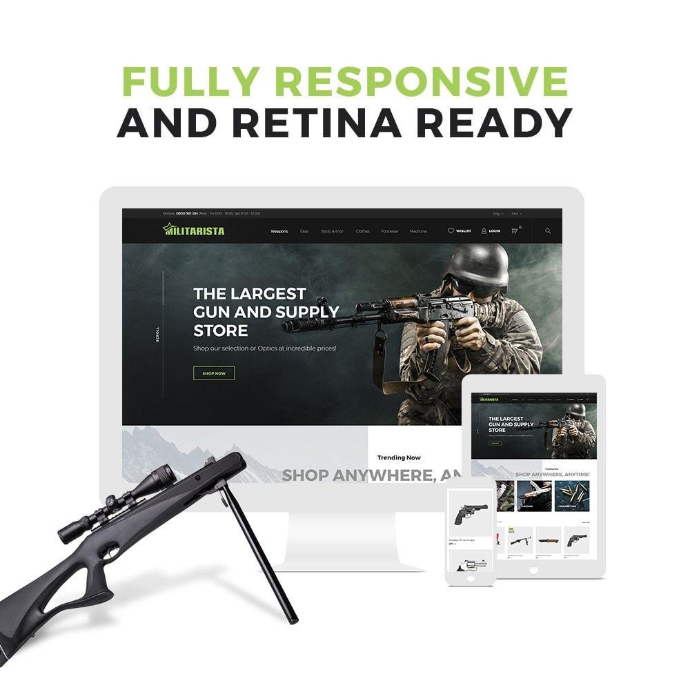 Militarista - Weapons Store