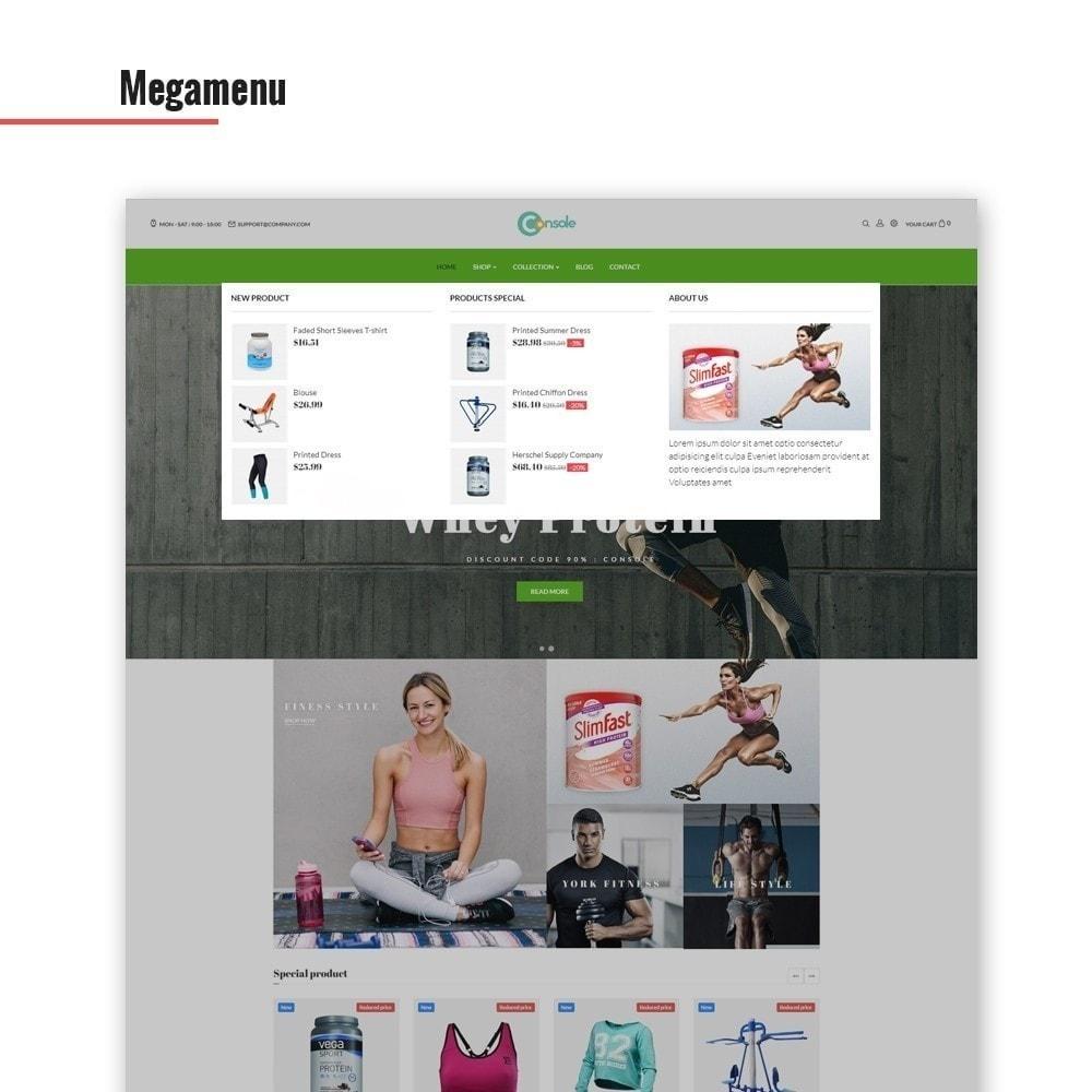 theme - Sport, Aktivitäten & Reise - Ap Konsole - Sport & Fitnessstudio - 5