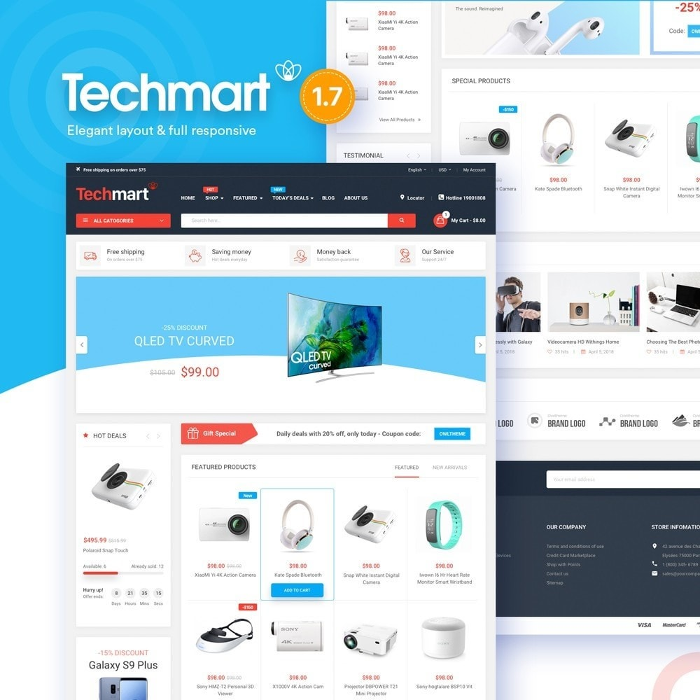 Techmart - High-tech Store