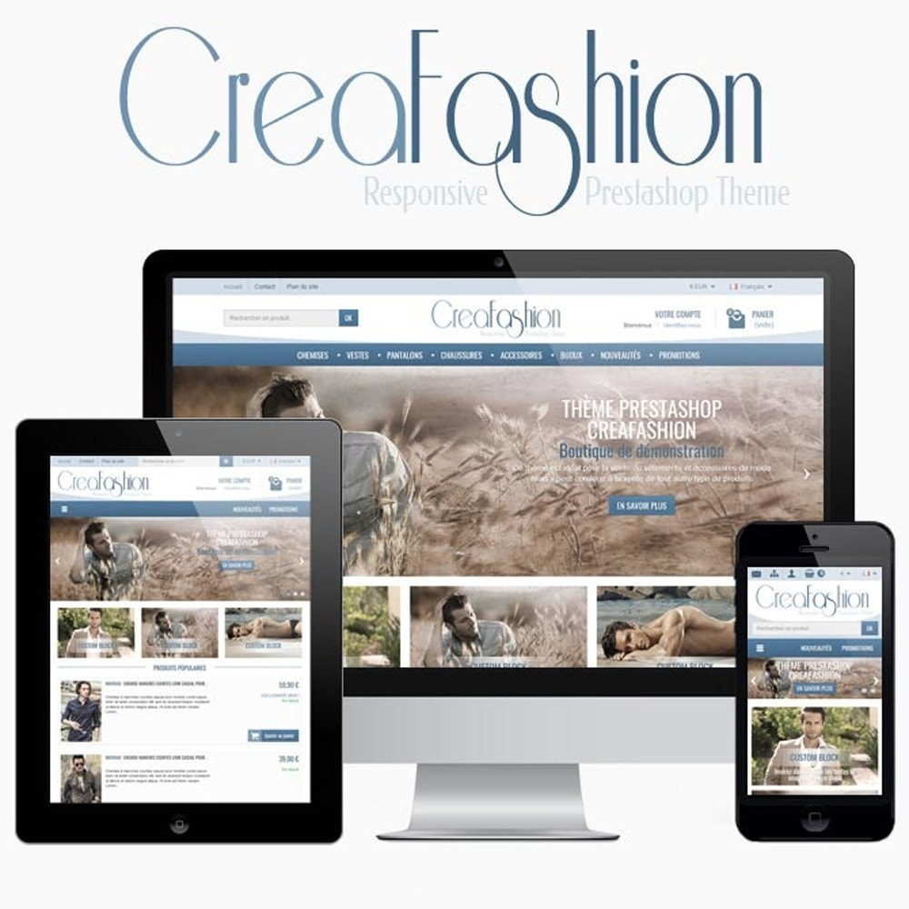 theme - Fashion & Shoes - CreaFashion - 1