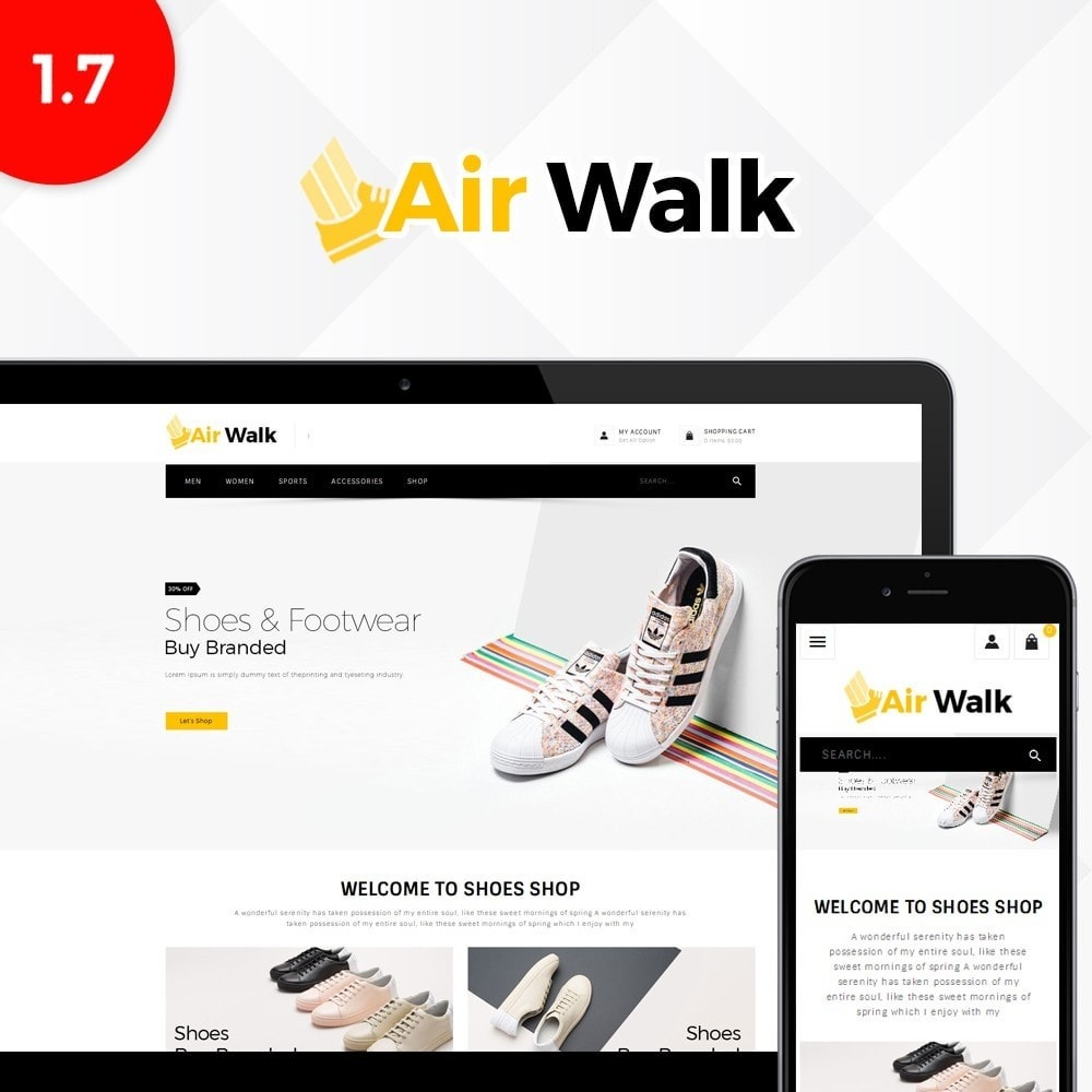 theme - Moda & Calçados - Air-walk Store - 1