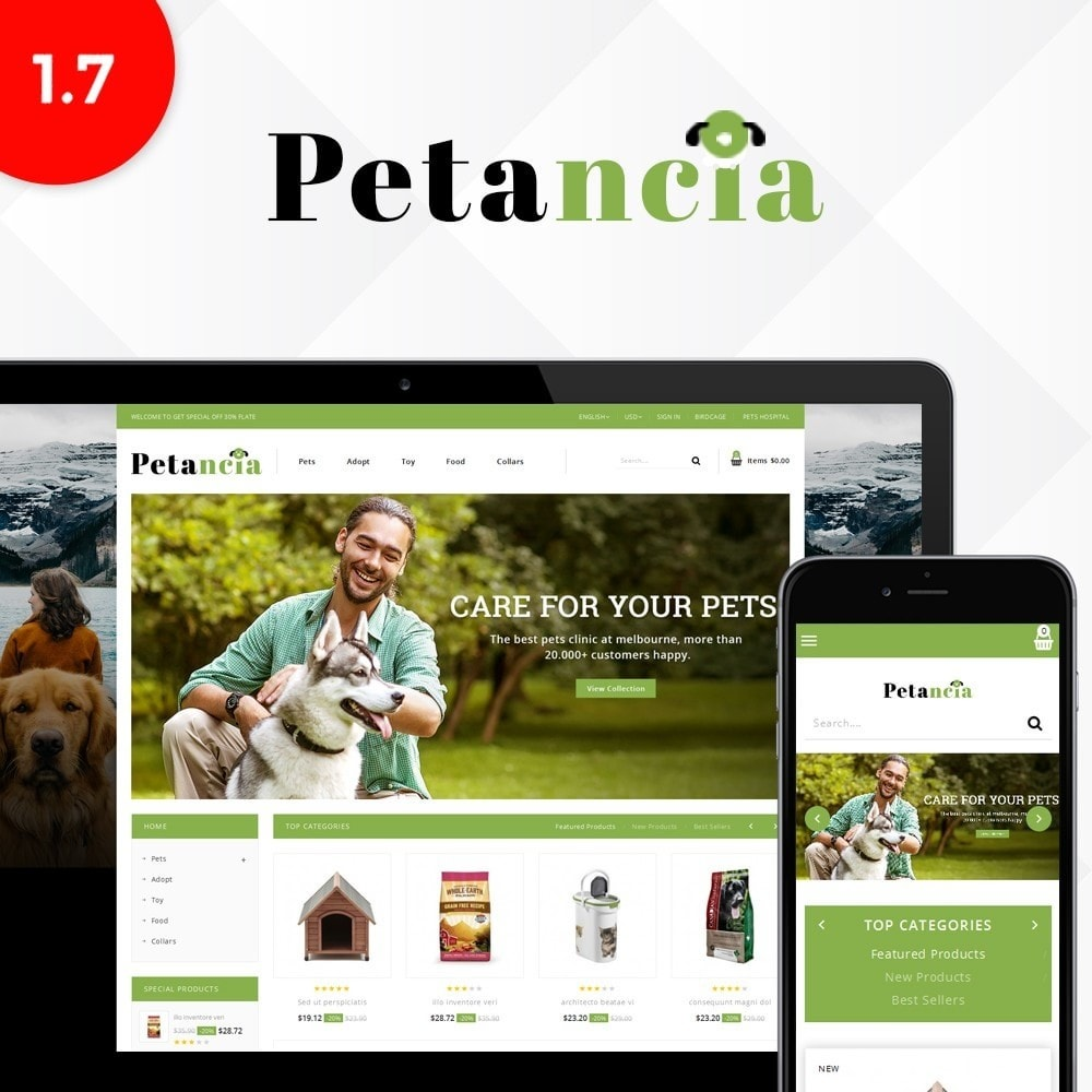 theme - Animals & Pets - Petancia Srore - 1