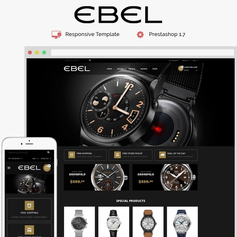 theme - Mode & Chaussures - Ebel Watch Store - 1