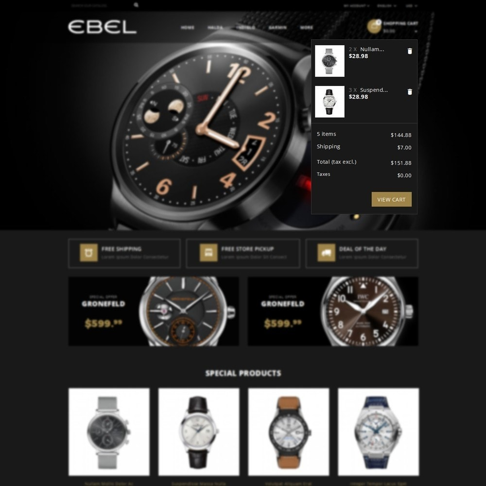 theme - Mode & Chaussures - Ebel Watch Store - 8