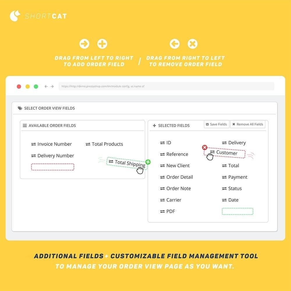 module - Zarządzanie zamówieniami - Order Management: Search, Actions, Fields, Update - 4