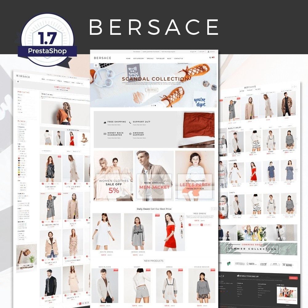 Bersace Fashion Theme