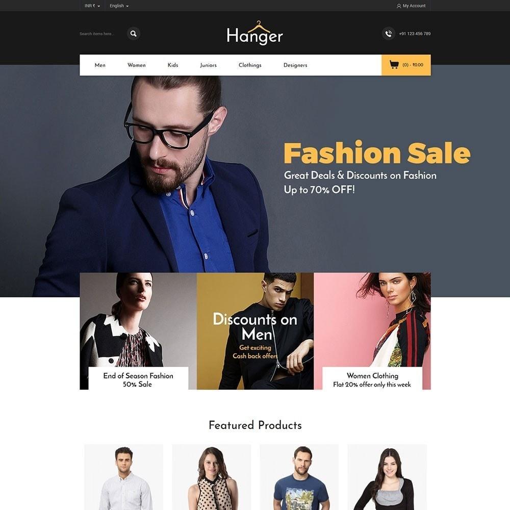 theme - Fashion & Shoes - Hanger Fashion Store - 2