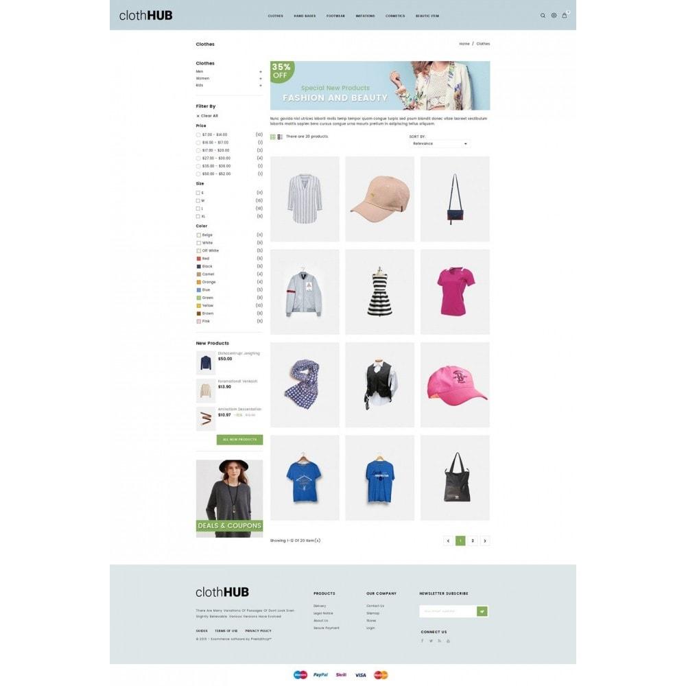theme - Mode & Chaussures - Cloth HUB - 3