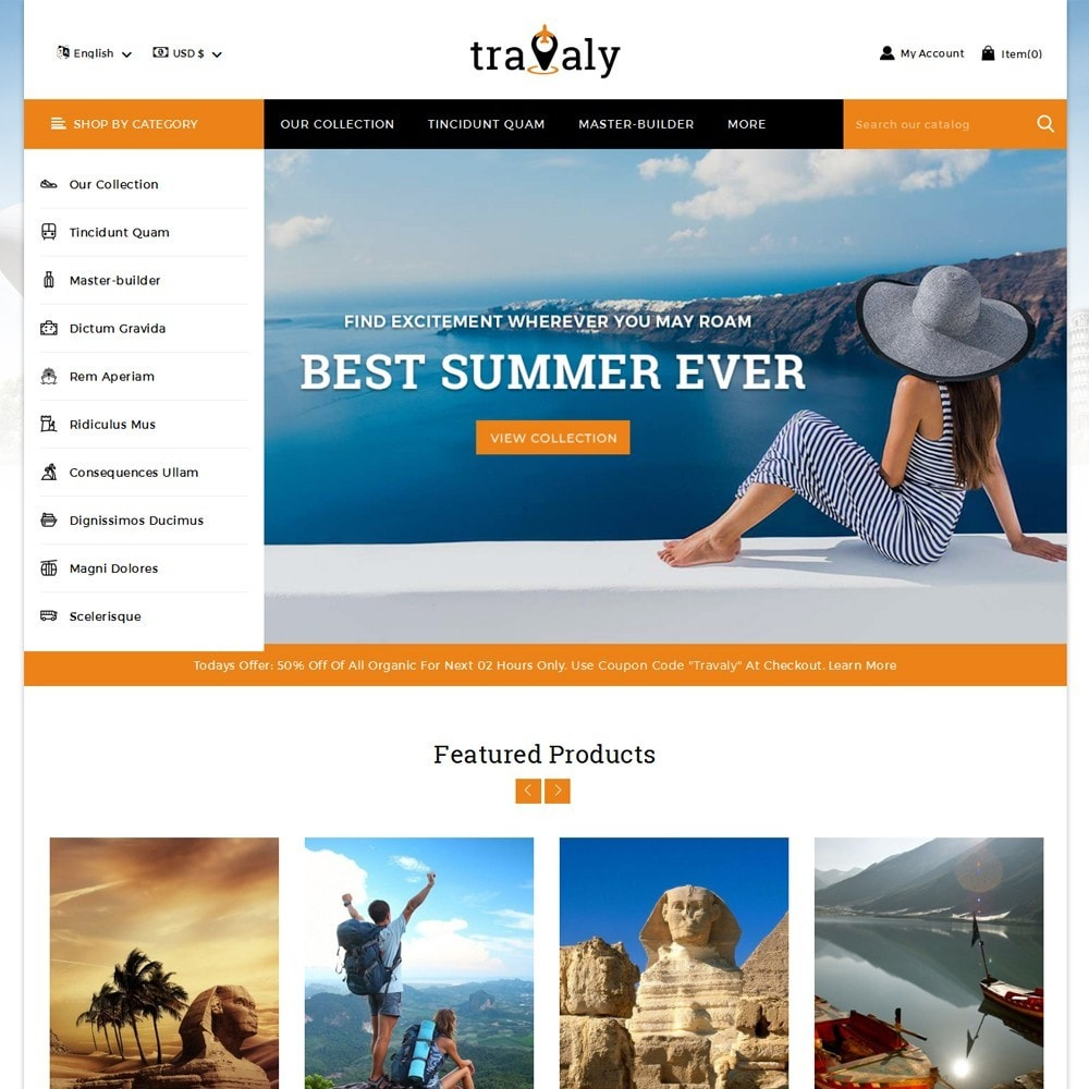 Travaly  -The Tourism Store