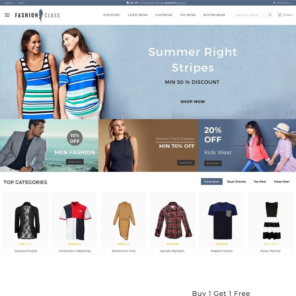 Fashionclass - The Fashion Store