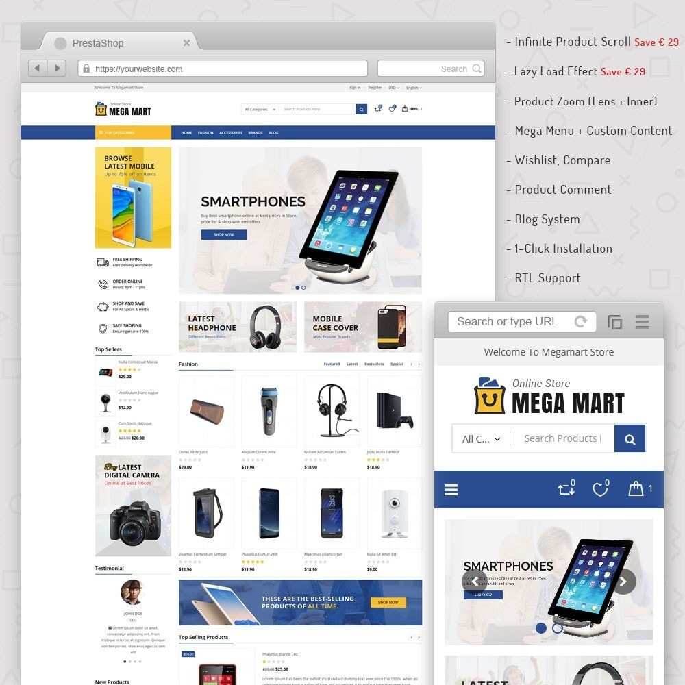 Megamart Digital Store