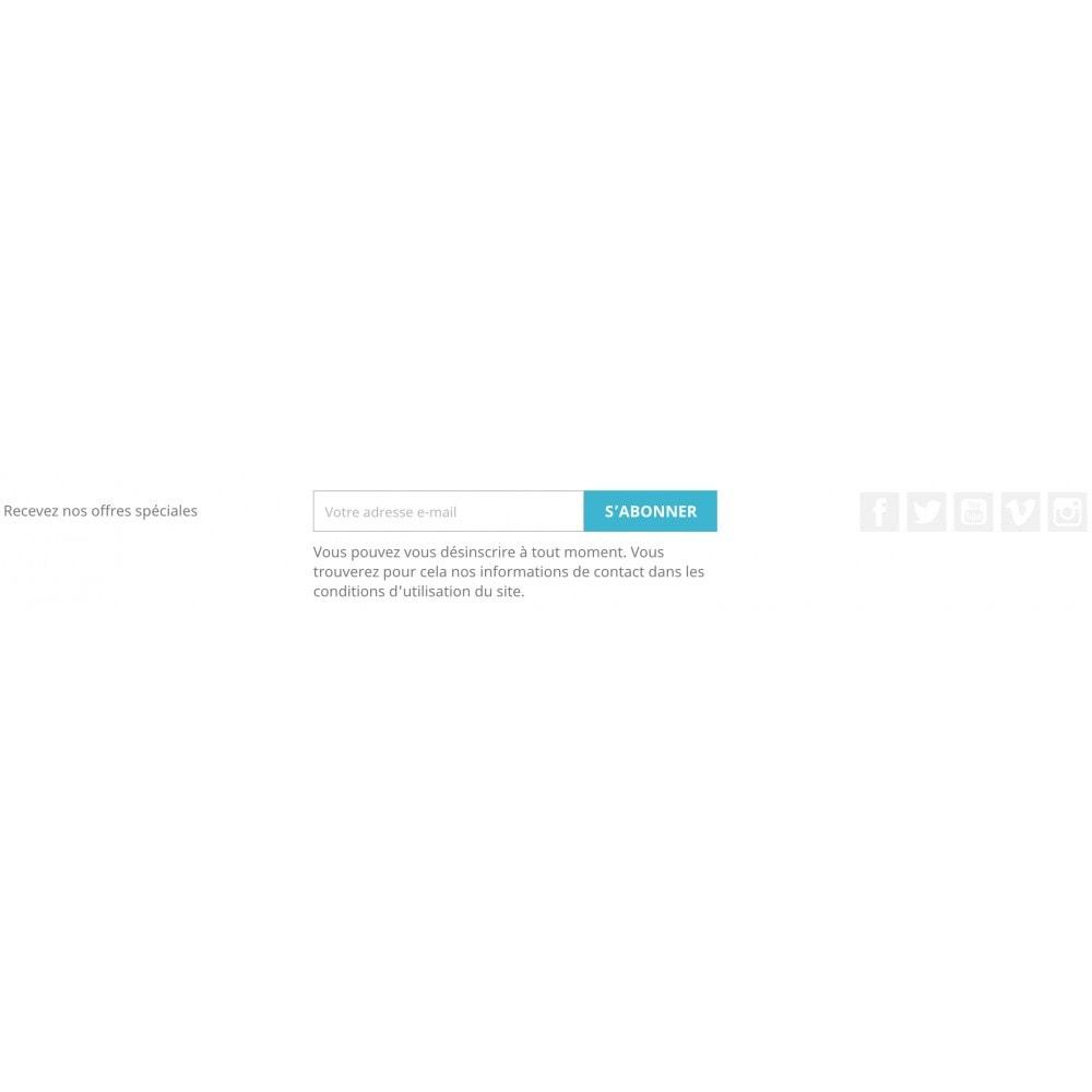 module - Widgets réseaux sociaux - Social media follow links - 2