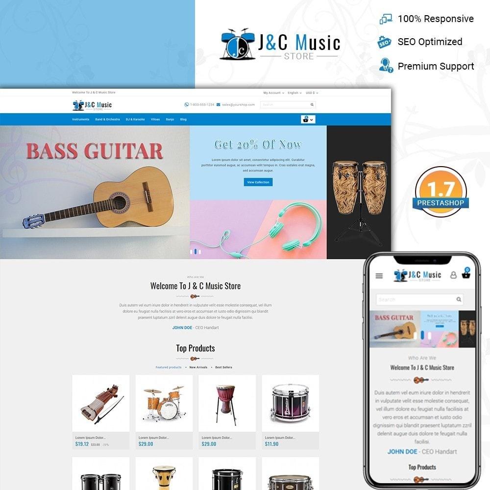 theme - Art & Culture - J & C Music Store - 1