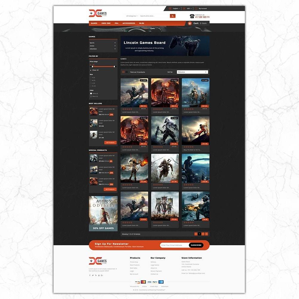 theme - Sport, Loisirs & Voyage - Game Store - 3