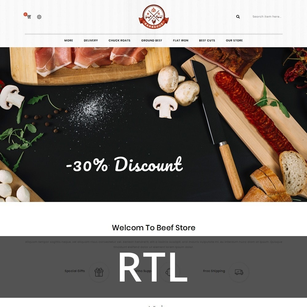 theme - Eten & Restaurant - Barbecue - The Meat Shop - 3