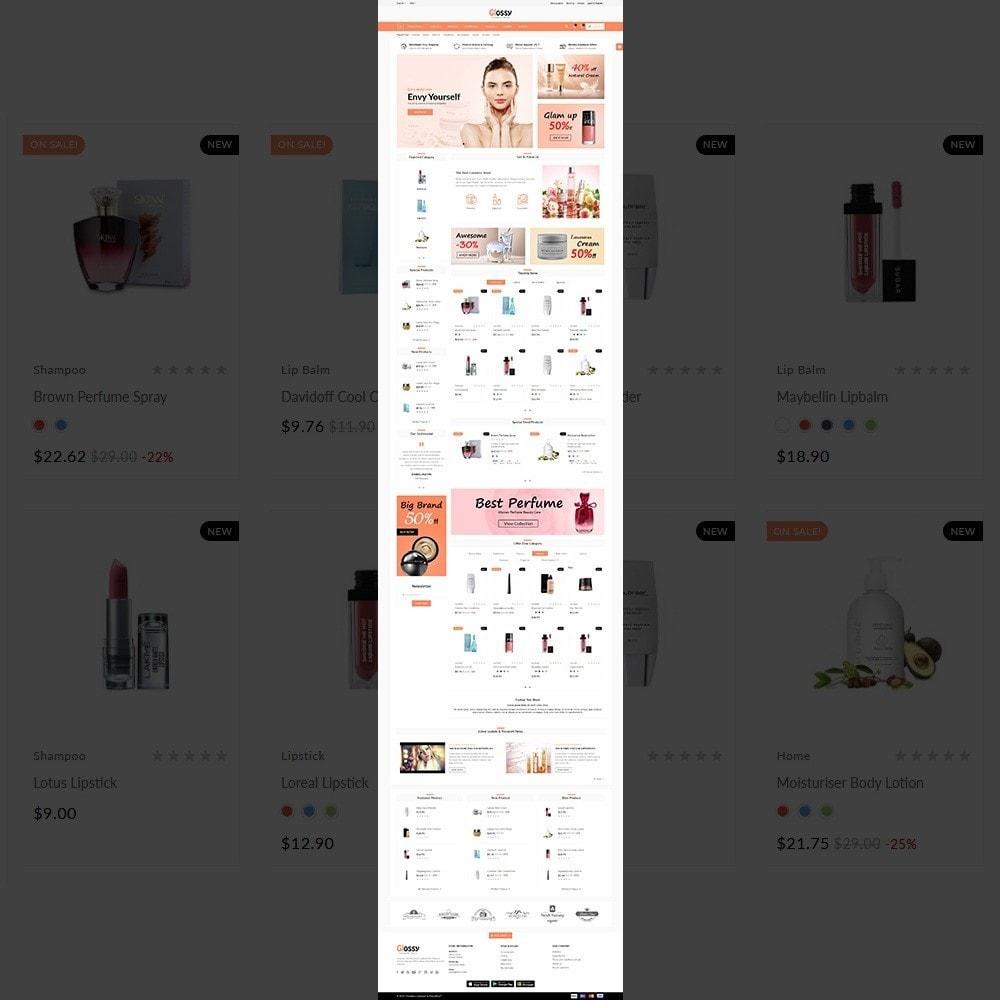 theme - Santé & Beauté - Glossy –Cosmetic Mega Shop - 2