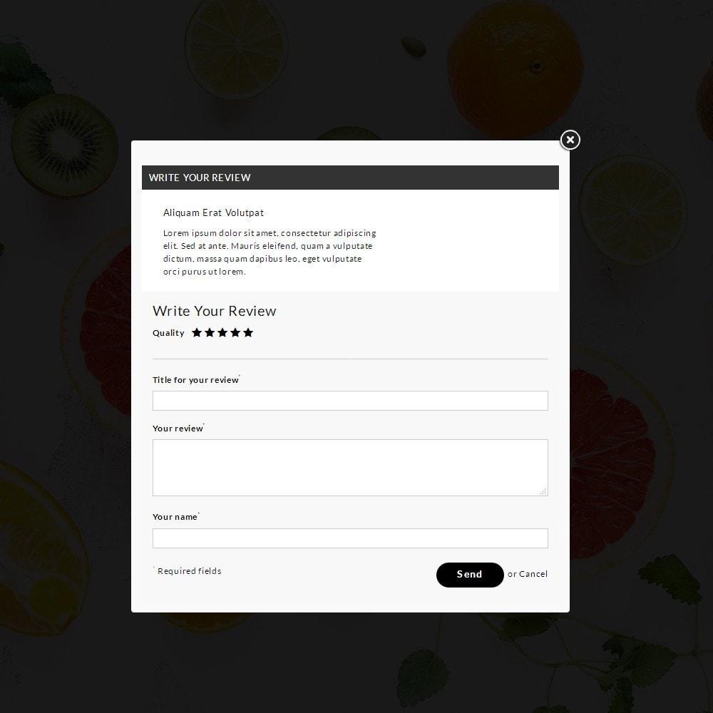 theme - Food & Restaurant - Fresh Culture Organic Store - 6