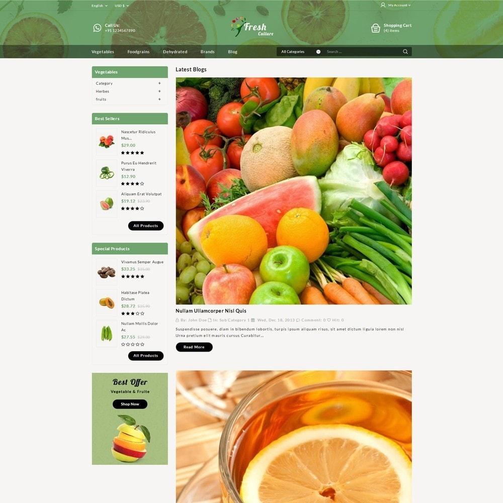 theme - Food & Restaurant - Fresh Culture Organic Store - 7