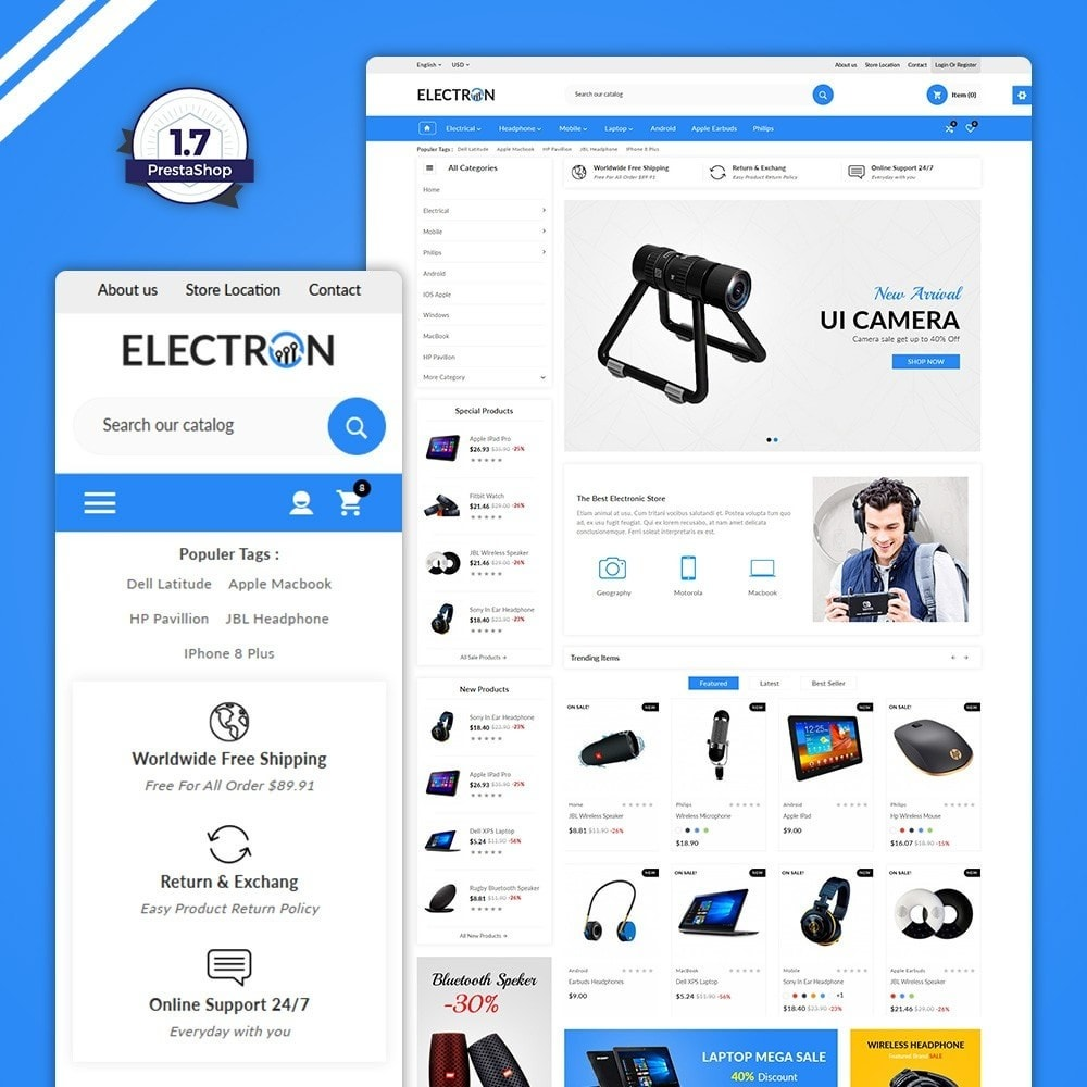 Electron - Electronics Super Store