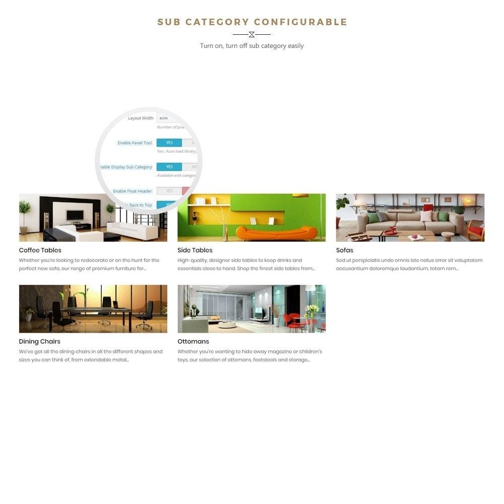 theme - Home & Garden - Boho - Furniture & Interior Home Décor - 5