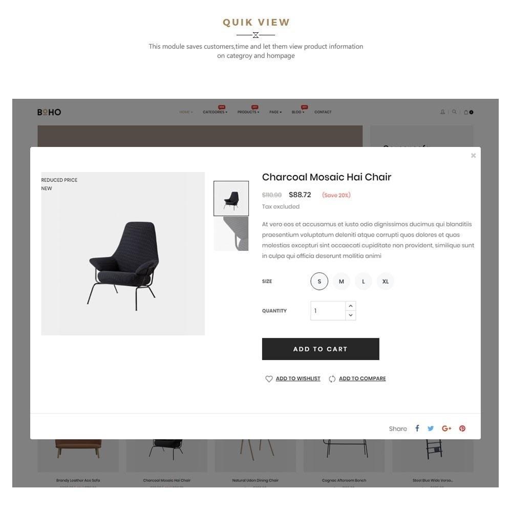 theme - Home & Garden - Boho - Furniture & Interior Home Décor - 7