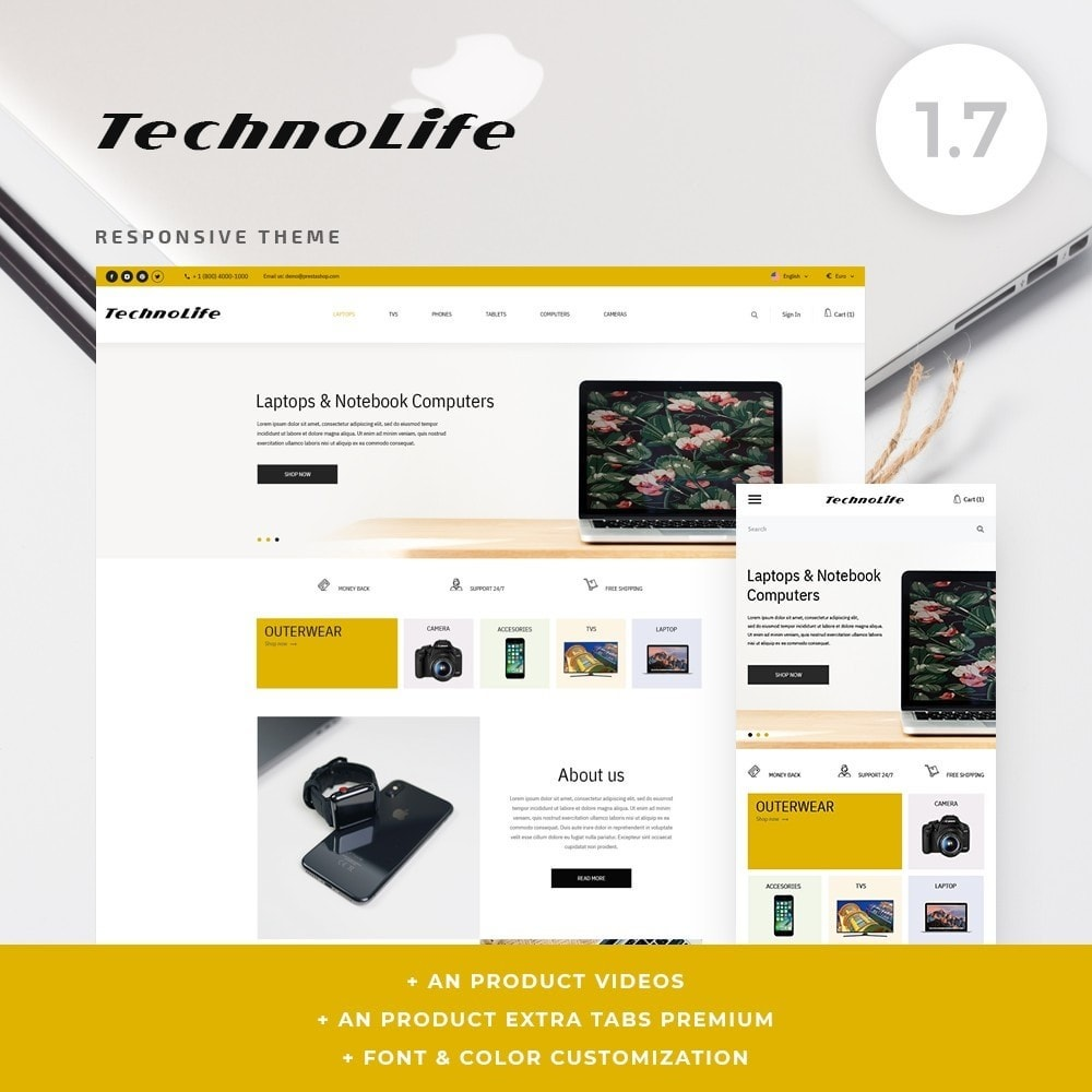 TechnoLife - High-tech Shop