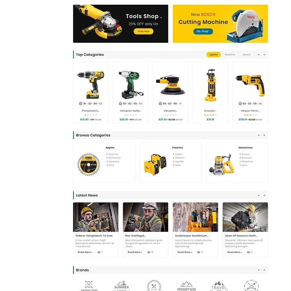 theme - Электроника и компьютеры - Digital Mart Tools Equipment - 4
