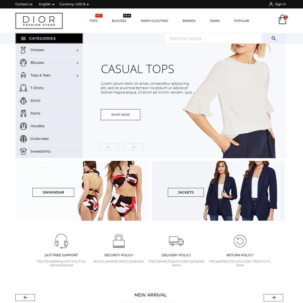 Dior Fashion Store