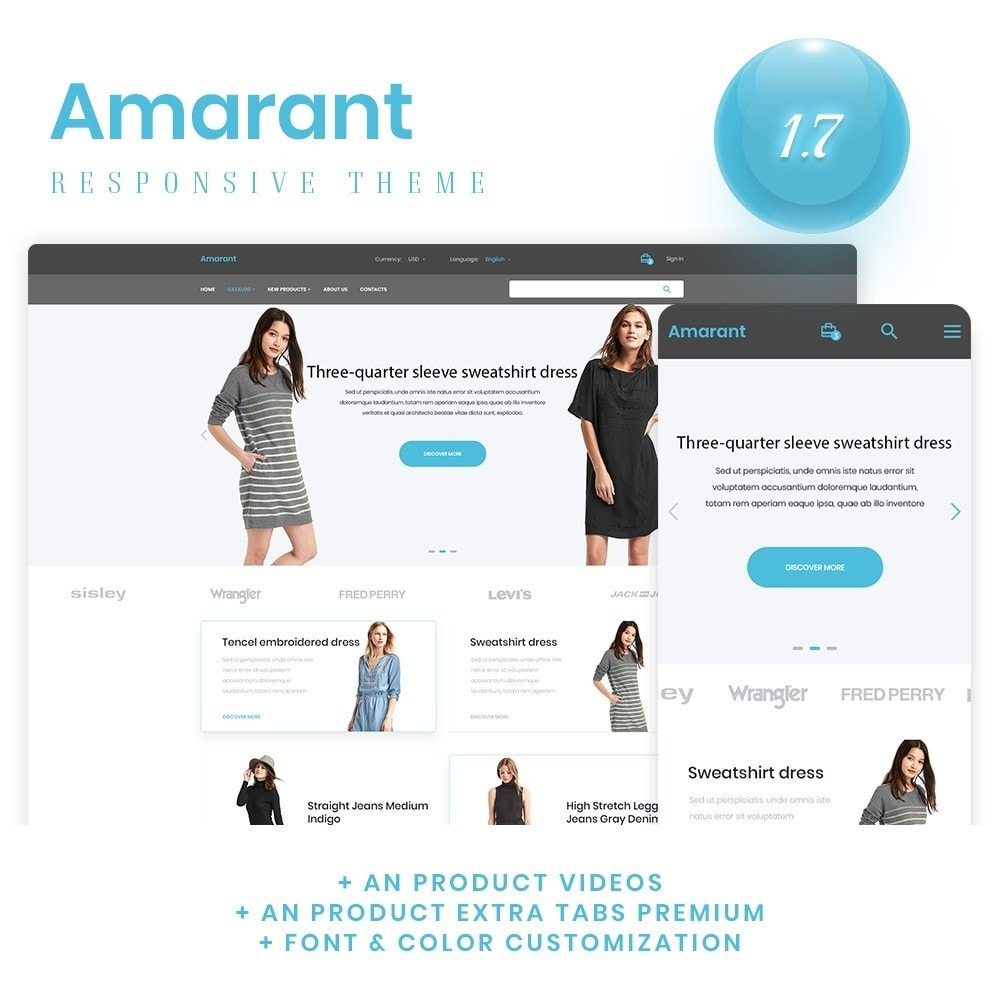 theme - Fashion & Shoes - Amarant Fashion Store - 1