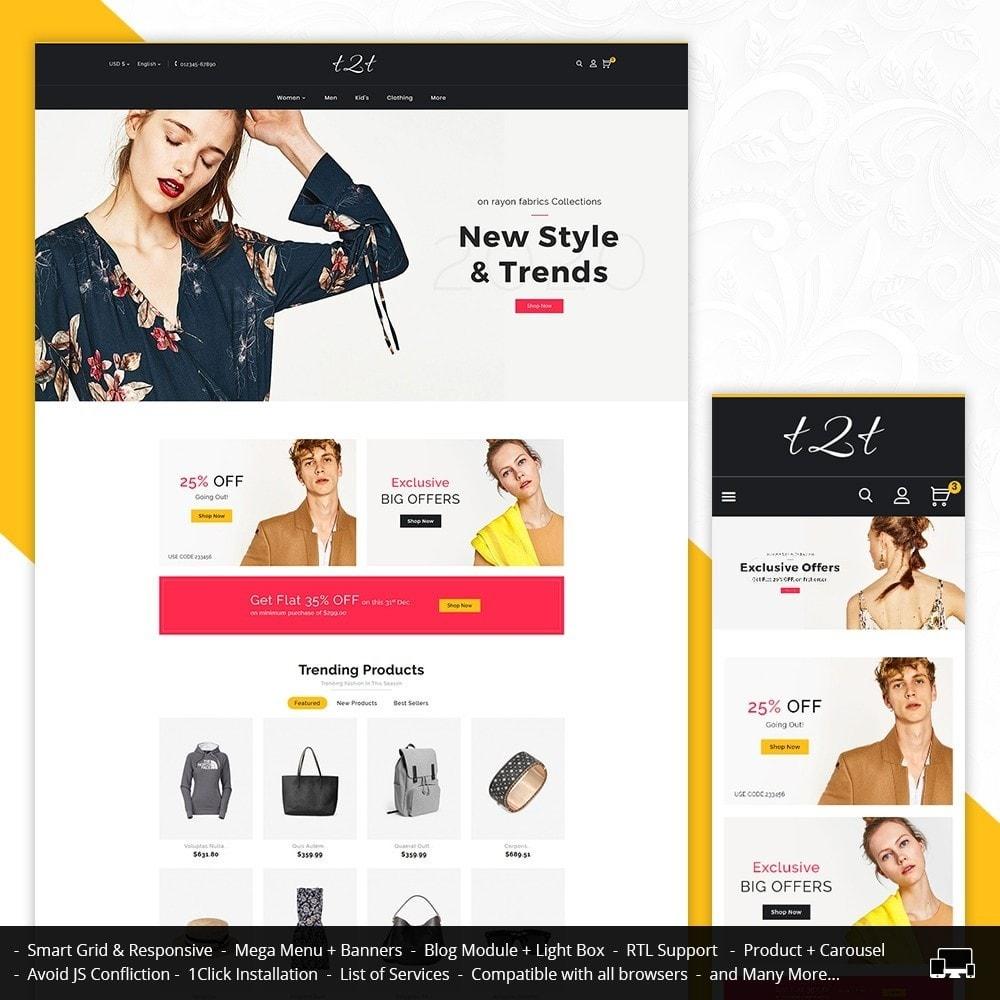 theme - Moda & Calzature - t2t Fashion Style - 1