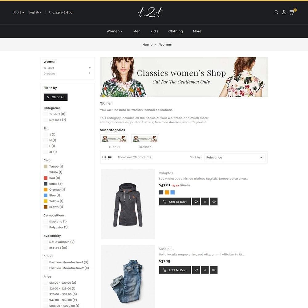 theme - Moda & Calzature - t2t Fashion Style - 7